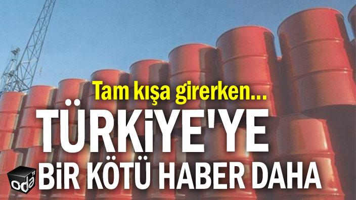 Türkiye'ye bir kötü haber daha