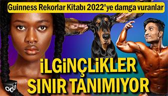 Guinness Rekorlar Kitabı 2022'ye damga vuranlar... İlginçlikler sınır tanımıyor