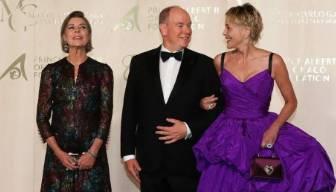 Prensesin yerini Sharon Stone doldurdu