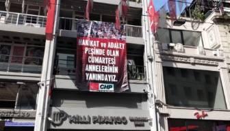 CHP'den Cumartesi Anneleri'ne destek