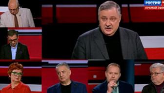 """Rus televizyonunda Türkiye kavgası: """"Bizi Erdoğan ile korkutmayın"""""""