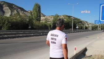 SMA hastaları için Ankara'ya yürüyor