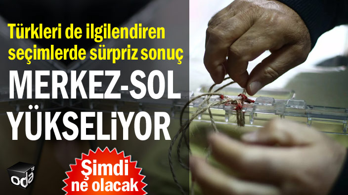 Türkleri de ilgilendiren seçimlerde sürpriz sonuç... Merkez-sol yükseliyor
