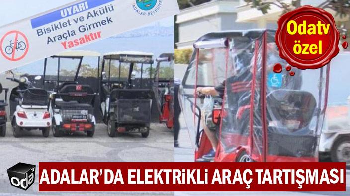 ODATV ÖZEL | Adalar'da elektrikli araç tartışması