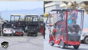 Adalar'da elektrikli araç tartışması