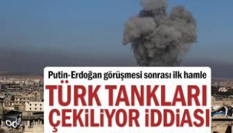 Putin Erdoğan görüşmesi sonrası ilk hamle