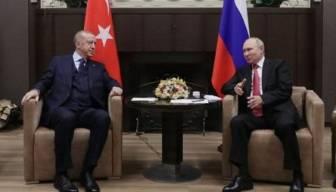 Erdoğan Putin görüşmesinde dikkat çeken detay