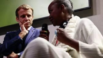 Macron'a haddini bildiren Afrikalı... İtiraf etmek zorunda kaldı: Hataydı