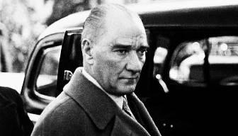 Atatürk'e hediye edilen harita