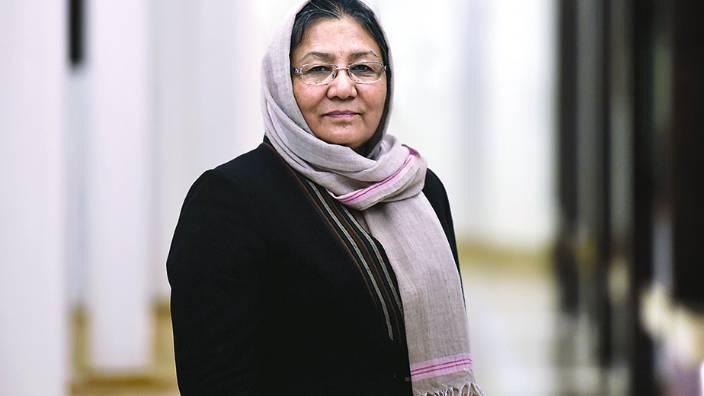 Afganistan'ın ilk kadın valisi burada konuşacak