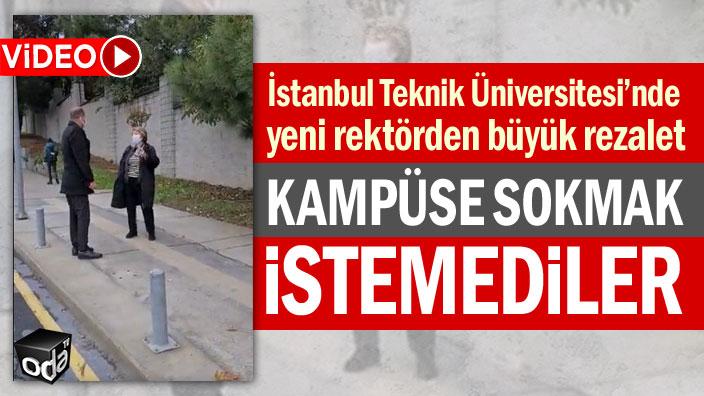 İstanbul Teknik Üniversitesi'nde yeni rektörden büyük rezalet