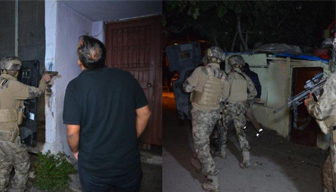 500 polis aşireti bastı