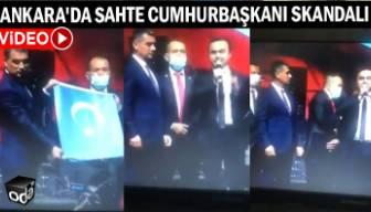 Ankara'da sahte cumhurbaşkanı skandalı