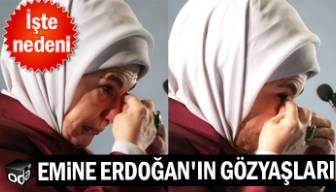 Emine Erdoğan gözyaşlarını tutamadı... İşte nedeni