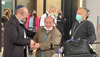 Son Yahudi de İstanbul'a geldi
