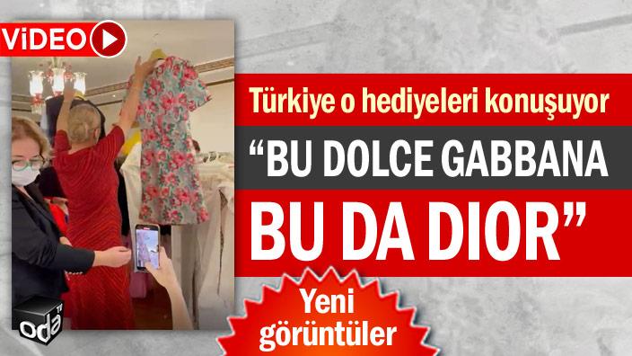 Türkiye o hediyeleri konuşuyor... Bu Dolce Gabbana bu da DIOR