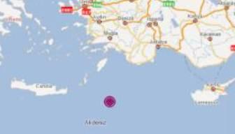 Türkiye'deki son depremler