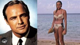 Marlon Brando'dan Ursula Andress'e: Seninle hiç sevişmiş miydik