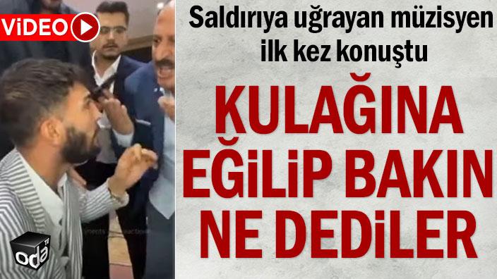 Saldırıya uğrayan müzisyen Erdal Erdoğan ilk kez konuştu
