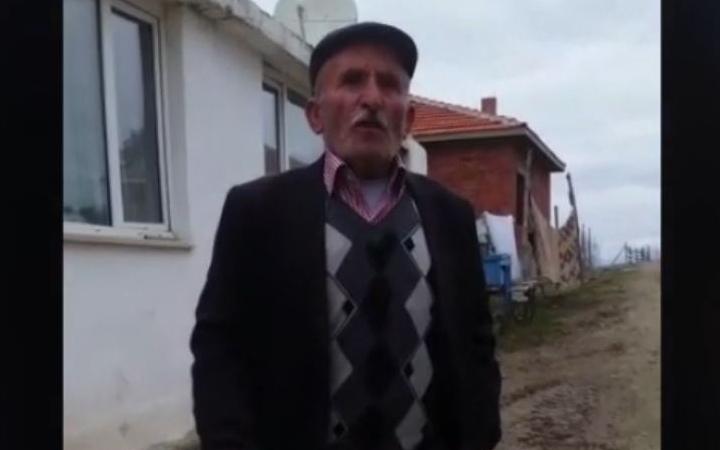 71 yaşındaki köylüye haciz