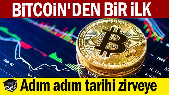 Bitcoin'den bir ilk: Adım adım tarihi zirveye