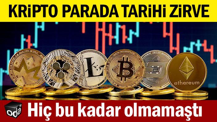 Bitcoin tarihi rekorunu kırdı