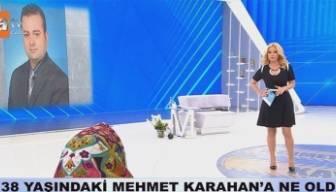 Mehmet Karahan olayında flaş gelişme