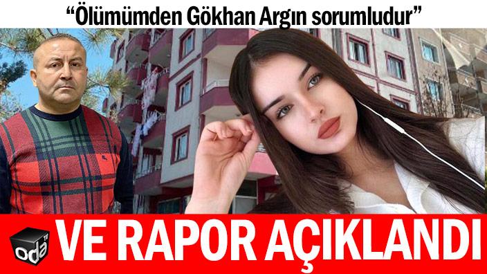 Aleyna'nın ölüm raporu açıkladı