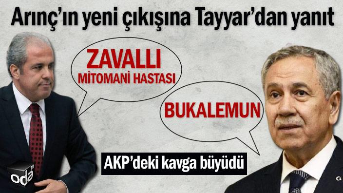 Bülent Arınç'ın yeni çıkışına Şamil Tayyar'dan yanıt