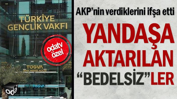 """AKP'nin verdiklerini ifşa etti: Yandaşa aktarılan """"bedelsiz""""ler"""