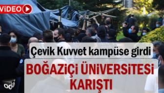 Boğaziçi Üniversitesi karıştı
