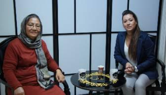 Afganistan'ın ilk kadın Valisi Odatv'ye konuştu... Mini etekle dolaşabiliyorduk