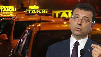 Ve İmamoğlu taksi krizine neşteri vurdu... Ne kadar maaş alacaklar