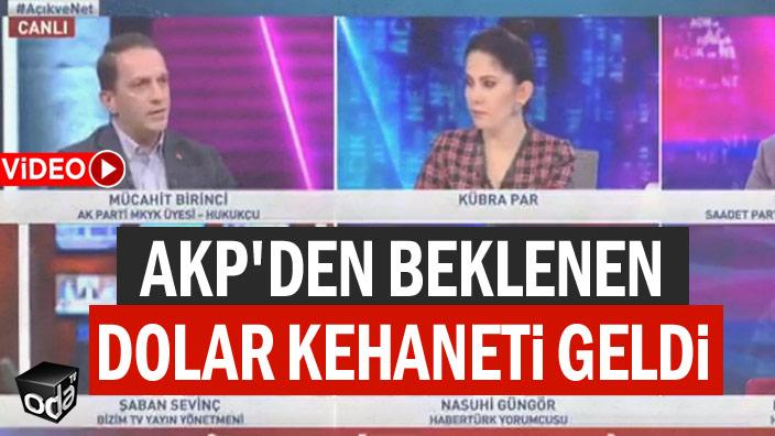 AKP'den beklenen dolar kehaneti geldi