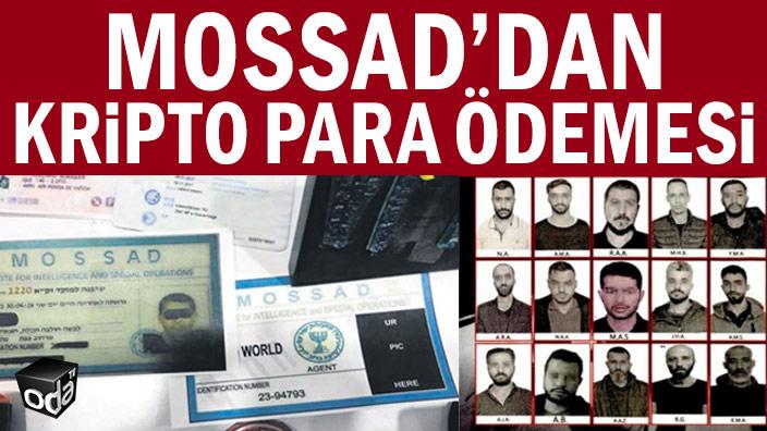 Mossad'dan kripto para ödemesi