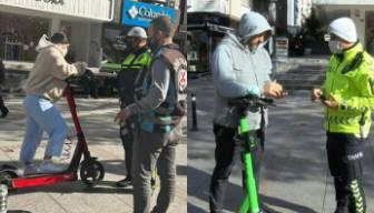 Elektrikli scooter kullanıcıları dikkat: Bunu yapana ceza yolda