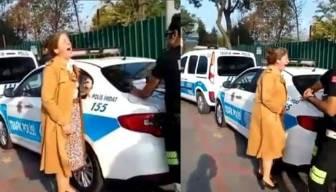 Çeken polislere beraat, yayınlayana hapis cezası