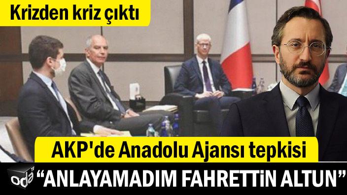 """Krizden kriz çıktı: """"Anlayamadım Fahrettin Altun"""""""