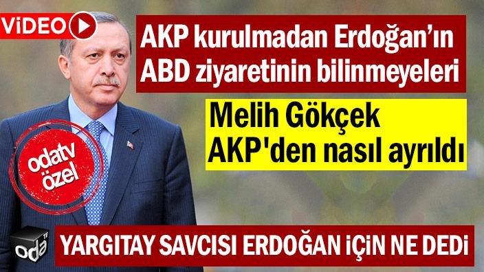 AKP kurulmadan Erdoğan'ın ABD ziyaretinin bilinmeyenleri