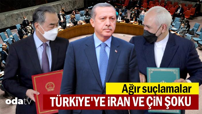 Türkiye'ye İran ve Çin şoku... Ağır suçlamalar