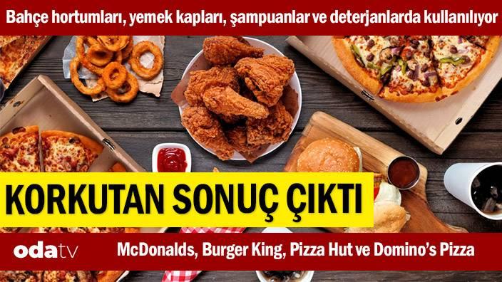 McDonalds, Burger King, Pizza Hut ve Domino's Pizza… Korkutan sonuç çıktı