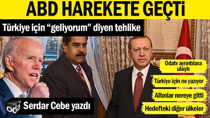 """Türkiye için """"geliyorum"""" diyen tehlike… ABD harekete geçti"""