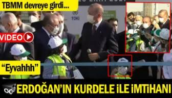 Erdoğan'ın kurdele ile imtihanı: Eyvaaah